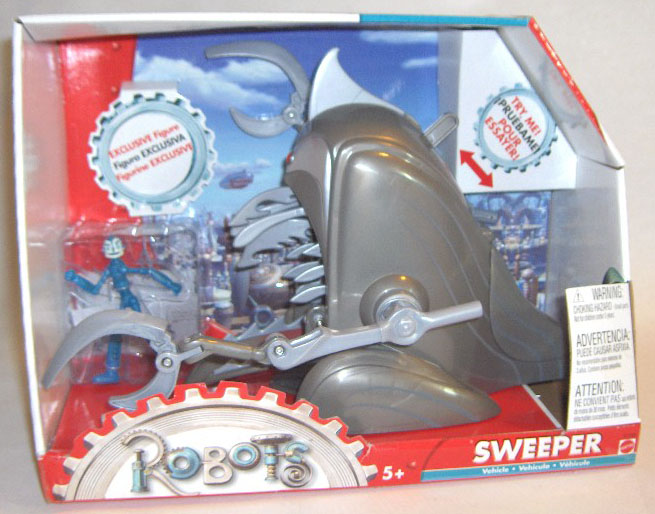 Robots Movie Sweeper Toy