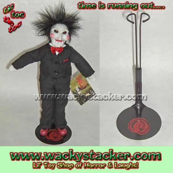 Saw The Movie Jigsaw Wackystacker Com Lil Toy Shop Of