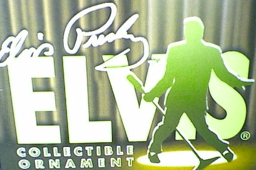 Elvis Presley Collectible Ornaments