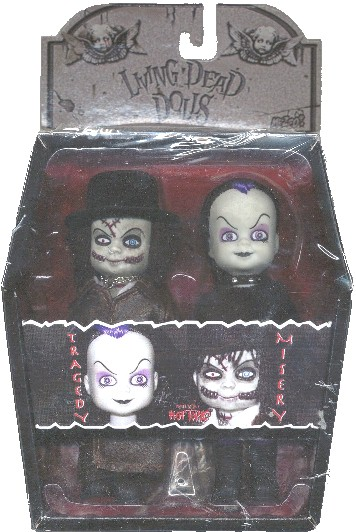 Living Dead Dolls Exclusive Mini Tragedy & Misery