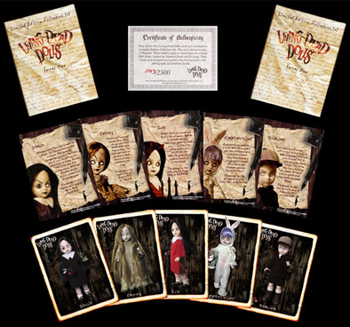 Living Dead Dolls Seires One Trading Cards