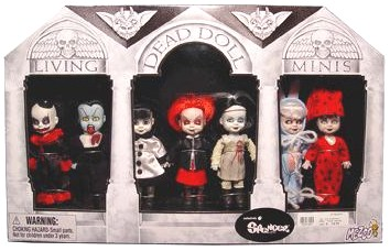 Living Dead Dolls Series Two Mausoleum Minis