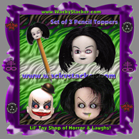 Living Dead Dolls Keychains