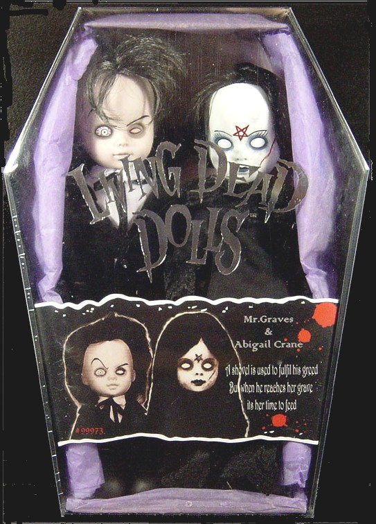 Living Dead Dolls Exclusive Mr. Graves & Abigail Crane