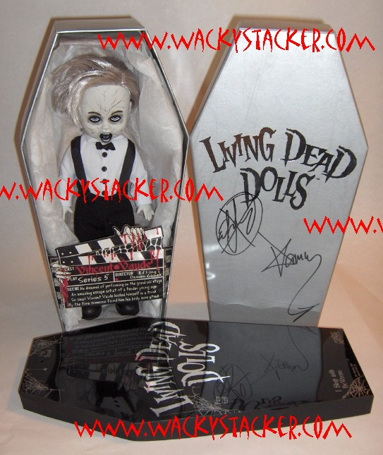 Living Dead Dolls Series 5 Black White Vincent Vaude
